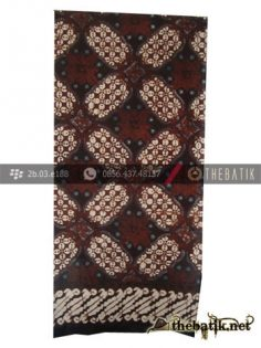 Selendang Batik Motif Ceplok Kawung