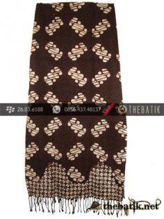 Selendang Batik Dobi Motif Ceplok Keci