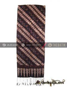 Selendang Batik Sutera ATBM Parang Klithik