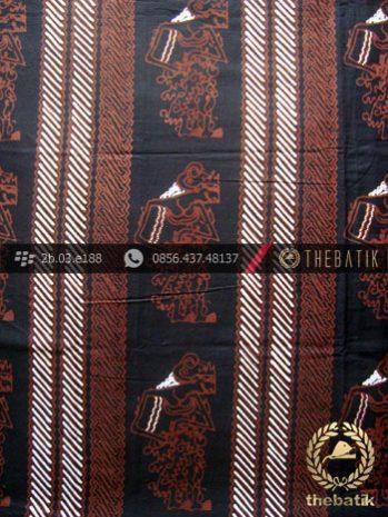 Batik Cap Tulis Jogja Motif Parang Ceplok Wayang