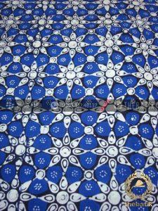 Kain Batik Cap Jogja Motif Kembang Tanjung Biru