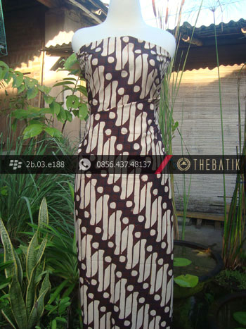Kain Batik Cap Jogja Motif Parang Barong Lawasan