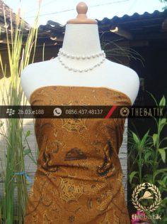 Kain Batik Cap Solo Motif Soga Genes Klasik