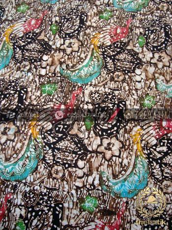Batik Remukan Wonogiren Motif Cendrawasih Coletan