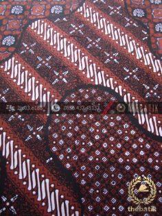 Kain Batik Cap Tulis Jogja Motif Pulau Kombinasi-5