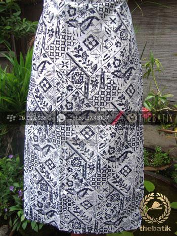 Bahan Batik Cap Motif Tambal Buket Kelengan