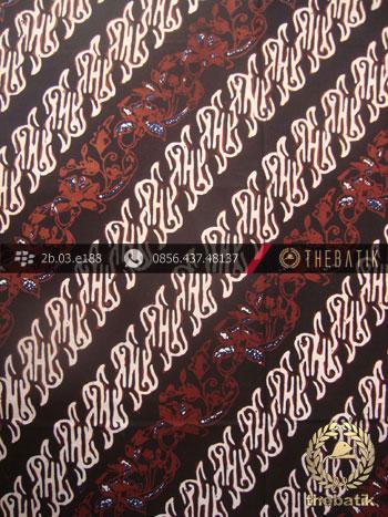 Kain Batik Cap Tulis Yogya Motif Parang Semut Kombinasi