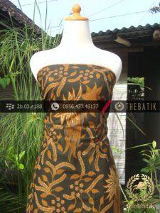 Kain Batik Cap Solo Motif Debyah Pari Soga Genes