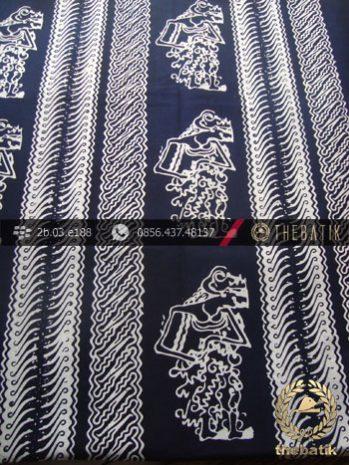 Kain Batik Cap Yogya Motif Parang Wayang Tegak Kelengan