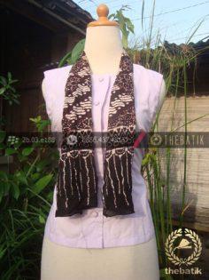 Syal Batik Paris Motif Parang Klithik Kotak