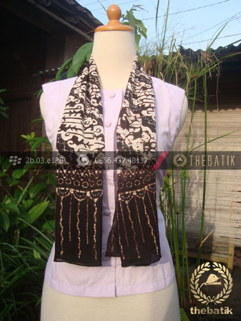 Syal Batik Paris Motif Parang Ukel