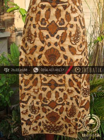 Kain Batik Cap Tulis Solo Motif Sido Mukti