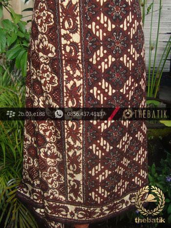 Batik Sutera Jogja Motif Klasik Tumpal-1