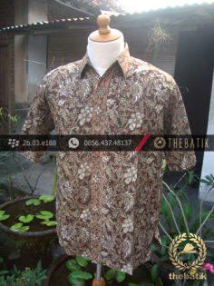 Kemeja Batik Motif Kontemporer-4