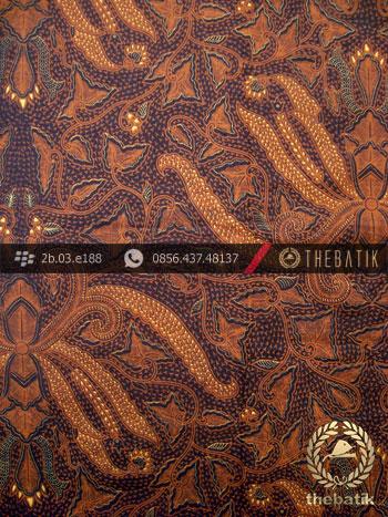 Kain Batik Cap Solo Motif Pisang Bali