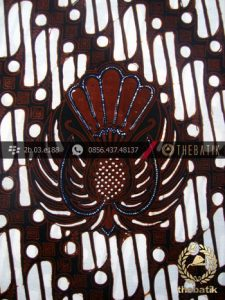 Kain Batik Cap Jogja Motif Parang Gendreh Ceplok Gurdo-2