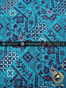 Kain Batik Cap Tulis Jogja Motif Tambal Tosca