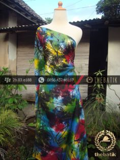Batik Air Brush Viscos Motif Kontemporer-12