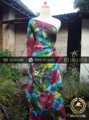 Batik Air Brush Viscos Motif Kontemporer-15