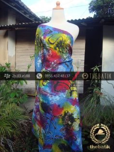 Batik Air Brush Viscos Motif Kontemporer-16