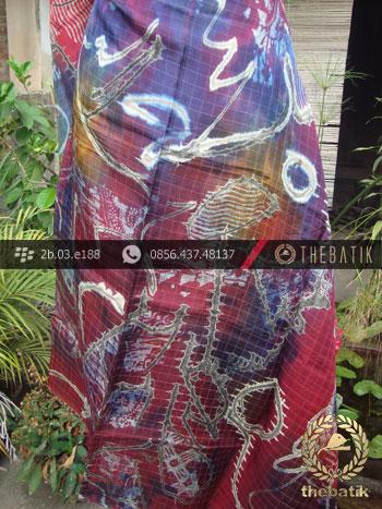 Batik Air Brush Viscos Motif Kontemporer-5