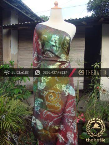 Batik Air Brush Viscos Motif Kontemporer-6