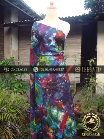 Batik Air Brush Viscos Motif Kontemporer-7