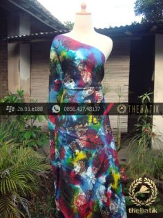 Batik Air Brush Viscos Motif Kontemporer-8