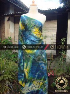 Batik Air Brush Viscos Motif Kontemporer-9