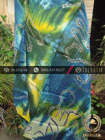 Batik Air Brush Viscos Motif Kontemporer-9