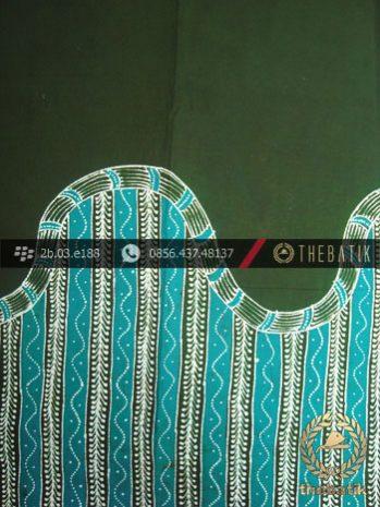 Kain Batik Tulis Jogja Motif Kombinasi Hijau