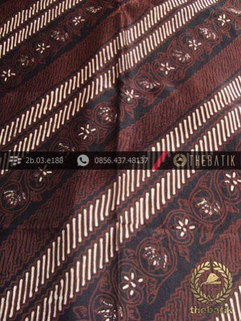 Batik Sutera Jogja Motif Parang Seling Kembang