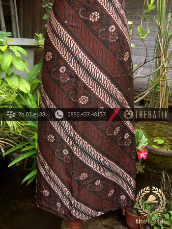 Batik Sutera Jogja Motif Parang Tuding Seling Curigo