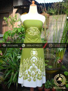 Batik Tulis Cirebon Motif Megamendung Hijau-2