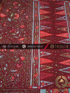 Batik Tulis Cirebon Motif Tumpal Buketan-2