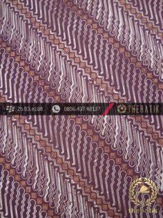Batik Cap Jogja Motif Parang Tuding Warna Lawasan
