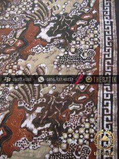 Kain Batik Warna Alam Motif Sekar Banyu