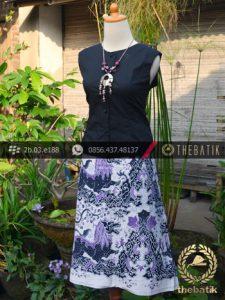 Batik Tulis Pesisiran Motif Singa Wadasan Ungu