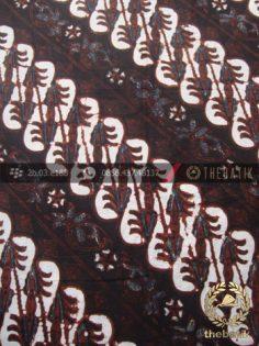 Kain Batik Klasik Jogja Motif Parang Semanggi Seling
