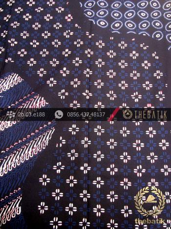Batik Cap Tulis Jogja Motif Pulau Biru Kombinasi
