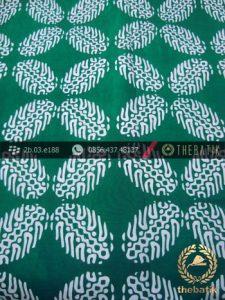 Batik Cap Motif Bligon Hijau Kelengan