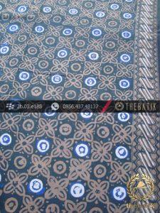 Batik Cap Tulis Jogja Motif Grompol Abu-Abu Kombinasi