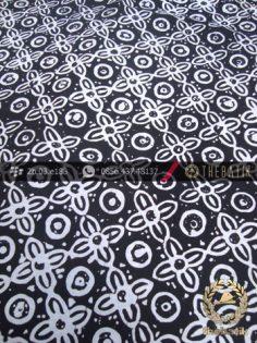 Batik Cap Motif Grompol Hitam Kelengan