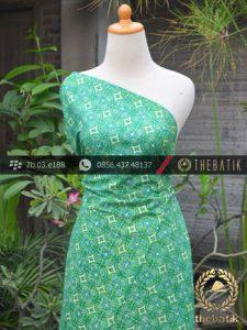 Batik Cap Tulis Jogja Motif Nithik Cakar Hijau