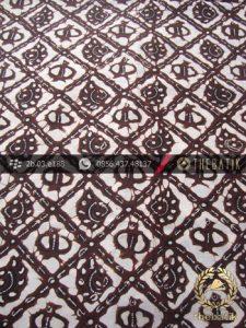 Kain Batik Tulis Jogja Motif Sido Luhur Latar Putih