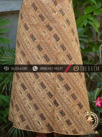 Kain Batik Cap Solo Motif Udan Riris