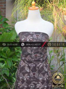 Kain Batik Warna Alam Motif Kepiting Ikan