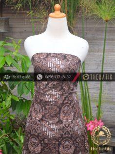 Kain Batik Warna Alam Motif Putri Solo