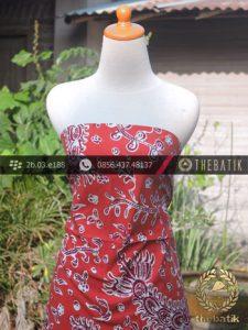 Batik Tulis Pesisiran Motif Udang Merah