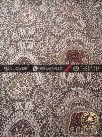 Kain Batik Tulis Warna Alam Motif Gajah